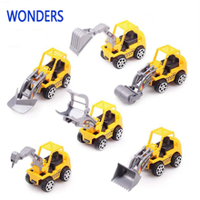 1pcs 2017 New Bob the Builder toy car engineering plastic car model car classic collection toy sending in different kinds(China)