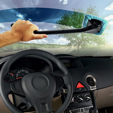 BEST Handy Microfiber Car Window Dust Fog Moisture Cleaner Wash Brush Windshield Towel Washable Car Cleaning Tool