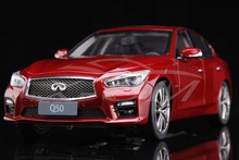 Diecast Car Model Infiniti Q50 (Red) 1:18 + SMALL GIFT!!!!!!!!!!!