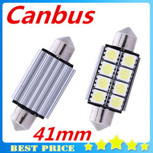 C5W Canbus 41mm 8 SMD 5050 8 Led Car Auto Dome Lights Bulbs Reading License Plate Light Festoon Parking Car Light Lamp(China)