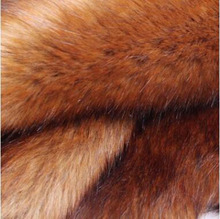 1m*1.8m Plush Red fox Fake fur fabric The fox fur on tip Plush fabrics Clothing ingredients, hats, blankets, plush toys earmuffs