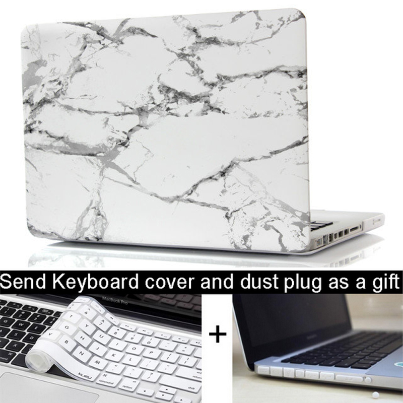 Marble Texture Case For Apple macbook 11 12 13 15 Pro with Retina laptop Protector For Mac book 13.3 15.4 inch keyboard cover<br><br>Aliexpress