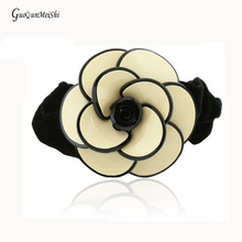 New Luxury wholesale Hair Rope Flowers Goody Cellulose Acetate Hair Accessories bridal for Women Hair Jewelry Pin Gifts