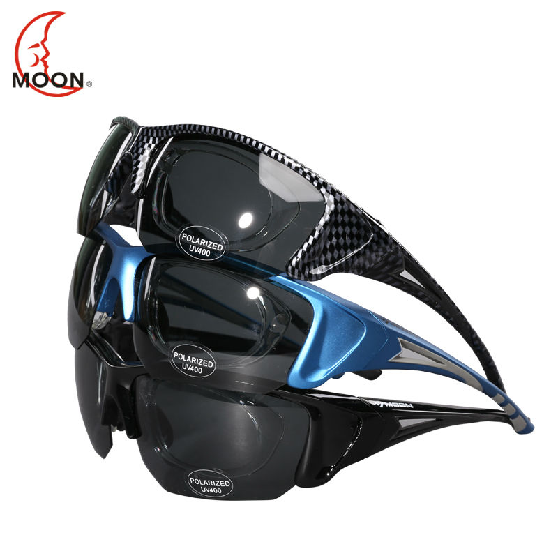 MOON 2017 new Polarized Cycling Eyewear Sunglasses Bike Bicycle Goggles Outdoor Sports Cycling Glasses UV 400 Oculos Ciclismo<br><br>Aliexpress
