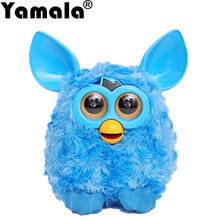 [Yamala] 2017 1pcs Speaking in Russian Electronic Talking Firbi Elves Plush Toy Smart Furbiness Boom Interactive Toys for kid