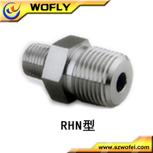 "3/4"" 1"" Male NPT x Male NPT Stainless steel 316 Reducing Hex Nipple Pipe Fittings connector(China)"