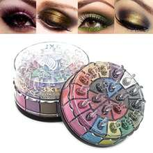 New 20 Colors Pigment Glitter Eye Shadow Powder Palette Naked Makeup Shimmery Smokey Cosmetic Eyes Eyeshadow Palettes With Brush