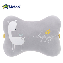 Metoo Cute Animal Cushion Doll Stuffed Plush Office Multi- function Neck Pillow Toys Car Neck Pillow Can Be Removable
