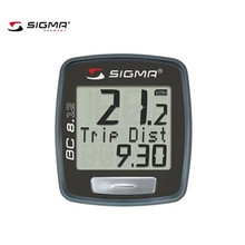 SIGMA BC 8.12 Waterproof Bicycle Speedometer Road Bike Computer Mountain Bike Wire Odometer Cycling Odograph
