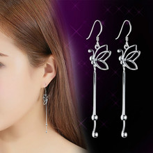 Butterfly Tassel Earrings Korean Fashion Butterfly Earrings European And American Fashion Earrings Manufacturers Wholesale