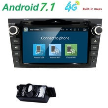 Android 7.1 HD 1024*600 Car DVD Player Radio For Honda CRV 2007 2008 2009 2010 2011 4G WIFI GPS Navigation Head Unit 2 din 2GRAM