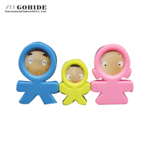 Gohide Decoration Family Photo Frame Personality Cartoon Small Photo Frame 3 Mini Gift Rack Decorative Desktop Picture Frames