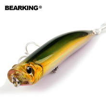 Professional quality Bearking brand popper Fishing Lure 1PC Minnow 9cm 10g Wobbling Lure Plastic Hard Bait Fishing Wobblers(China)