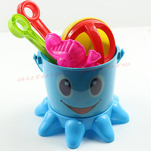 Lovely Cute Child Beach Toy Large Hourglass Sand Tools Baby Bath Toys Set