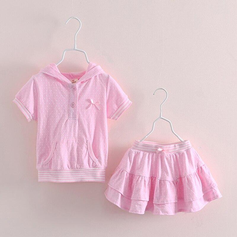 T Shirt Kids Lovely Wings Hooded Children T Shirts+Tutu Skirt Girls Dot Summer Girls Summer Sets Casual Kids Clothes 2273<br><br>Aliexpress