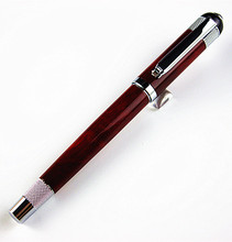 Luxury pen Red and silvery rollerball pen