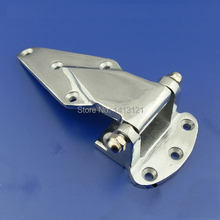 free shipping Cold storage hinge oven hinge industrial part Refrigerated truck car door hinge Cast iron hardware(China)