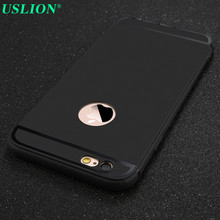 For Apple iPhone 6 6s Plus Cases Fashion Style Matte Frosted Design Covers for iPhone6 6s Plus Ultra Slim Soft Back Housing