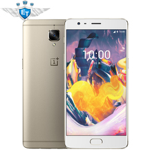 Original Oneplus 3T Fast Charge Snapdragon 821 Quad Core 5.5 Inch 1080P 6GB 64GB/128GB ROM 4G FDD Cell Phone 16.0MP Fingerprint