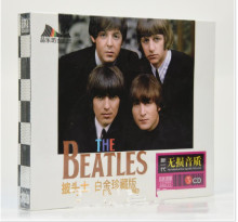 Free Shipping; Beatles Platinum Collection Popular New Songs Featured Car CDs Home CDs, Seals(China)