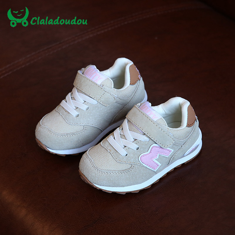 Claladoudou Girls Shoes Baby Fashion Sneakers Little Girls Princess Boys Girls Sport Shoes Flats Breathable School Casual Shoes <br><br>Aliexpress