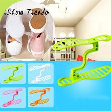 1 Pair Household Portable Closet Storage Shoes Rack Holder Organizer Space Saver#25(China)