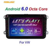 "8inch Android 6.0 (64bit) DDR3 2G/32G/4G LTE 8""Octa Core Car DVD GPS Radio For VW Golf 5/6/Polo/Passat/Jetta/Tiguan/Touran"