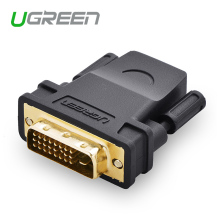 Ugreen high-quality HDMI to DVI 24+1 Adapter Female to Male 1080P HDTV Converter for PC PS3 Projector TV Box