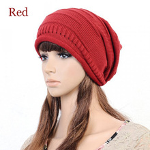 1pcs Fashion Hip-Hop Men's And Women's Knit Beanie Slouch Loose Baggy Style Snowboard Women's Hat Cap Bonnet Homme Femme