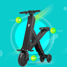 2016 HOT X-bird 30KM 50KM Foldable Electric Scooter Portable Mobility Scooter electric folding bicycle lithium battery Bike