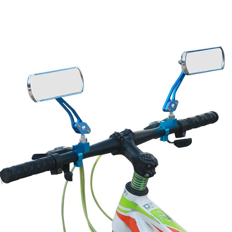 2pcs Cycling Rearview Mirror Mountain Bike Handlebar Safe Rear View Mirrors W//Y