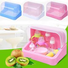 dry dust flip bottle baby storage box plastic storage rack tableware baby Storage Tools 25(China)
