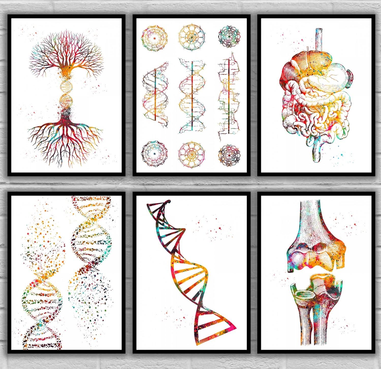 La science Bijoux acide désoxyribonucléique Collier biologie Bijoux molécule Collier Pour Unisexe Cadeau