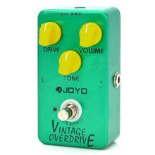 JOYO JF-01 Vintage Overdrive Full Sound Guitar Effect Pedal with True Bypass for Classic Tube-screamer