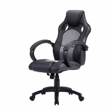 High Back Race Car Style Bucket Seat Office Desk Chair Gaming Chair Gray New CB10068GR