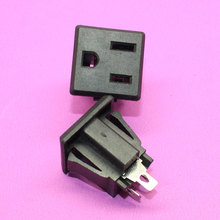 1X American PLUG AC POWER SOCKET 15A 125V Multinational Certification Environmental copper Power outlet