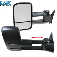 Towing Manual Side View Mirrors Left & Right Pair For 88-98 Chevy GMC Truck NEW