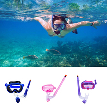 1Pc Kids Children Diving Mask Swimming Goggles Snorkeling Glass Equipment Tempered Glass Diving Goggles