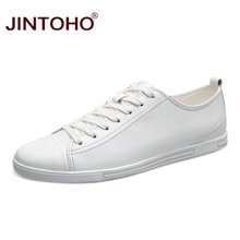 JINTOHO 2017 New Men Shoes High Quality Luxury Brand Men Genuine Leather Shoes Fashion Casual Mens Shoes Male Flats Shoes(China)