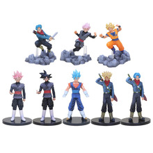 Dragon Ball Super Soul X Soul Son Goku Trunks DXF the super warriors Vol.3 Vegetto Black Goku PVC Figures Collectible Model Toy(China)