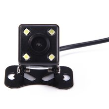 Universal Waterproof Mini Car Rear View Camera Compact Design Easy Install Parking Assistance Camera with 120 Degree NightVision(China)