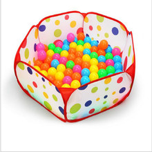One Piece Children Tent Game Ball Pool House Baby Outdoor Hut Toy Tent Environmental Protection Multifunctional Crawling Toy(China)