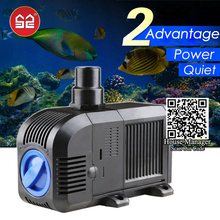 Adjustable Changeable Water Pump for aquarium fish tank, coral reef marine aquarium pump, sponges submersible pump for pond pool(China)
