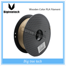0.8kg 3D Printer Wood Filament 1.75 MM Filament PLA PA PVA HIPS for MakerBot Flash Forge