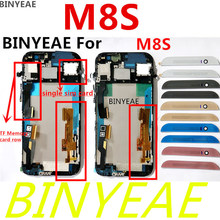 BINYEAE For htc One M8S LCD Display Digitizer touch screen + Frame Screen Assembly M8s Black silver gold red pink Free shipping
