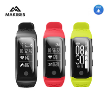 2017 NEW Makibes G03 IP68 Sport Tracker With GPS Heart Rate Monitor Activity Tracker Fitness Bracelet For IOS/Android
