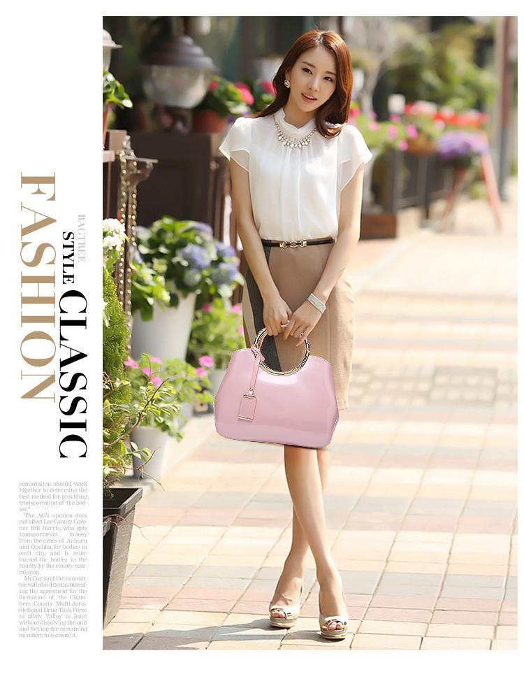 New High Quality Patent Leather Women bag Ladies Cross Body messenger Shoulder Bags Handbags Women Famous Brands bolsa feminina (11)