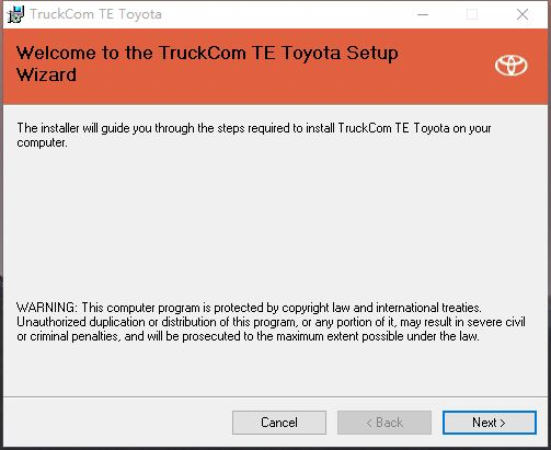 TruckCom TE 2.9.5 For Toyota <br><br>Aliexpress