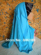 m1590 many colorS mix colors  20 pcs per lot fashion muslim hijab Jean and ITY patchwork  Islamic Jilbabs