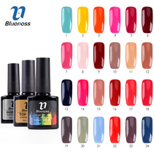 Nail Polish UV Newest Pink Color Led Long Lasting Nail Gel Polish DIY Nail Art Gel Lacquer Professional Top Coat & Base Coat Gif